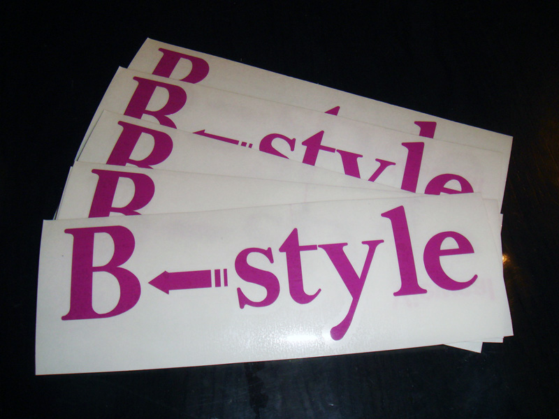 B←style 様<br />50mm×150mm<br />パープル